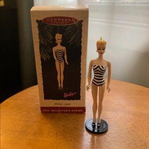Hallmark Keepsake Ornament Barbie Debut 1959.